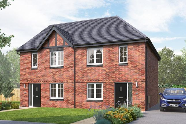 "Thumbnail Semi-detached house for sale in ""The Kilmington Semi"" at Russell Drive, Wollaton, Nottingham"