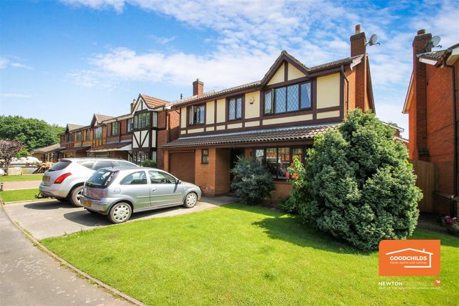 Thumbnail Detached house for sale in High Land Road, Walsall Wood, Walsall