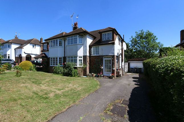 Thumbnail Semi-detached house for sale in Cotswold Way, Enfield, London