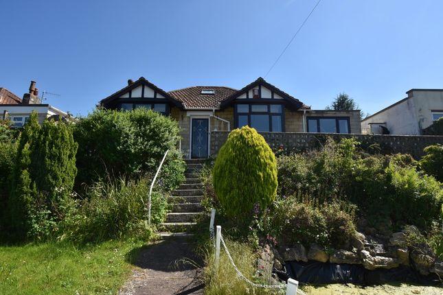 Thumbnail Detached bungalow for sale in Warminster Road, Bathampton, Bath