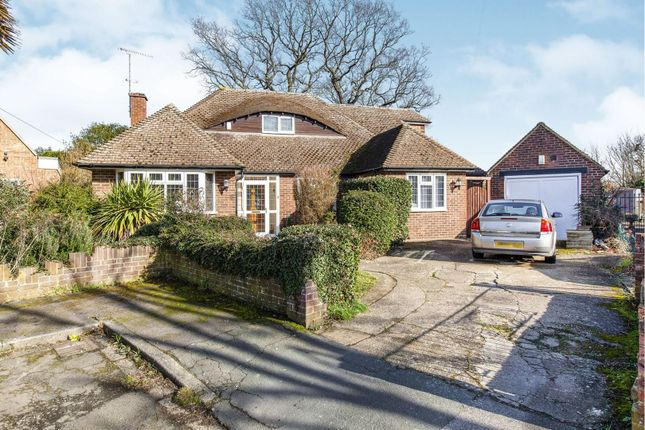 Thumbnail Detached bungalow for sale in Hamilton Gardens, Slough