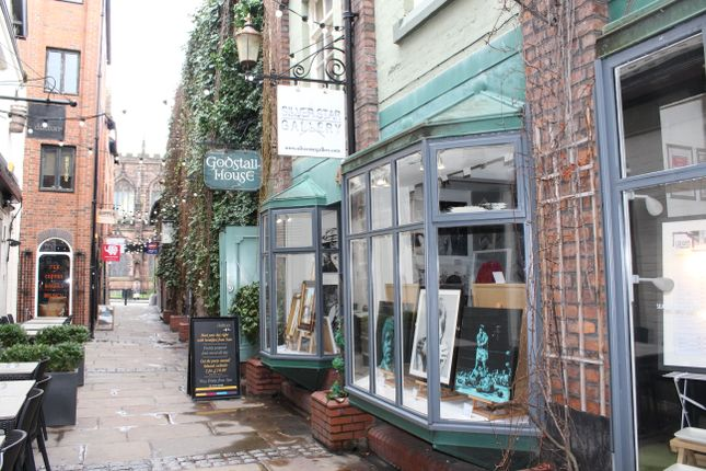Retail premises to let in Godstall Lane, Chester