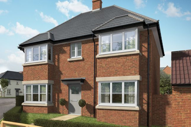 "Thumbnail Detached house for sale in ""The Casterton 3"" at Hill Top Close, Market Harborough"