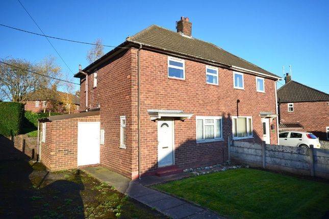 Semi-detached house for sale in Romney Avenue, Chesterton, Newcastle Under Lyme