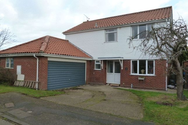Thumbnail Detached house for sale in Gunfleet Close, West Mersea, Colchester