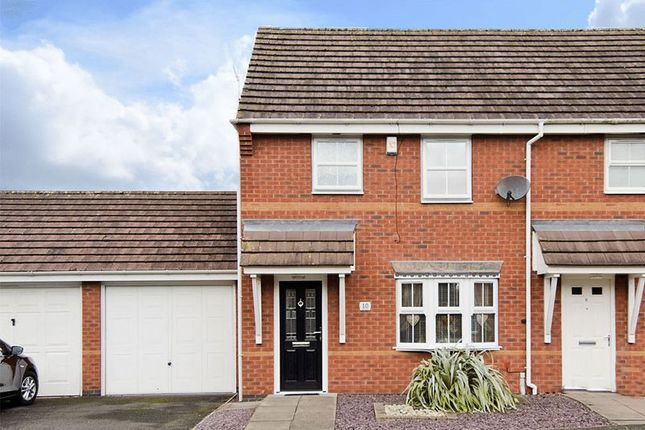 Thumbnail Semi-detached house for sale in Swan Drive, Brownhills, Walsall