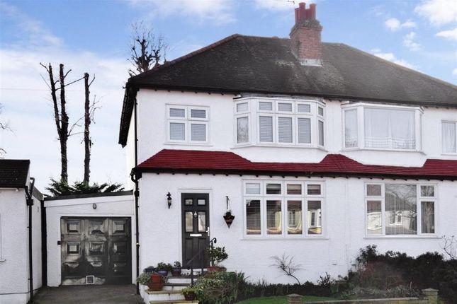 Thumbnail Semi-detached house for sale in St. Mary Avenue, Wallington, Surrey