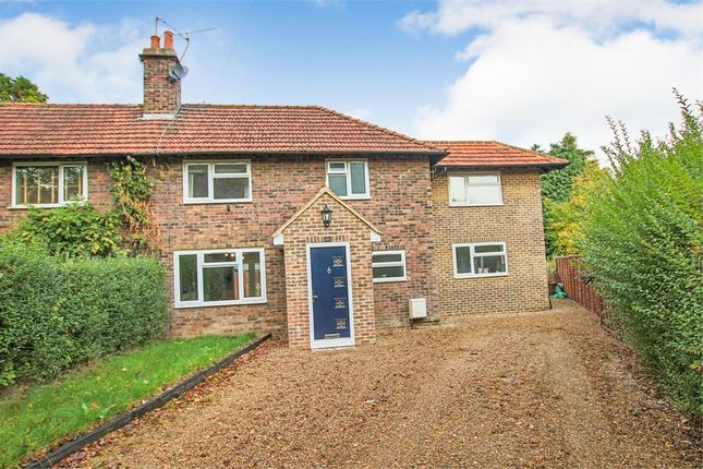 Thumbnail Semi-detached house for sale in Hammerwood Road, Ashurst Wood, West Sussex