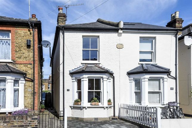Thumbnail Semi Detached House For Sale In Canbury Park Road Kingston Upon Thames