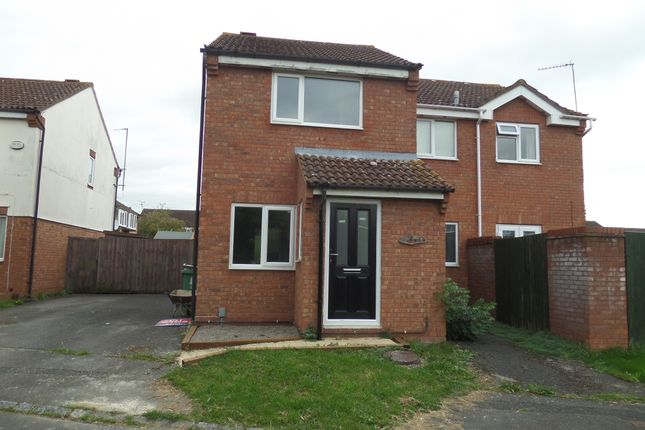 Thumbnail Semi-detached house to rent in Lower Meadow, Quedgeley