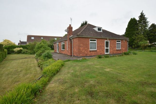 Thumbnail Detached bungalow for sale in High Street, Scotter, Gainsborough