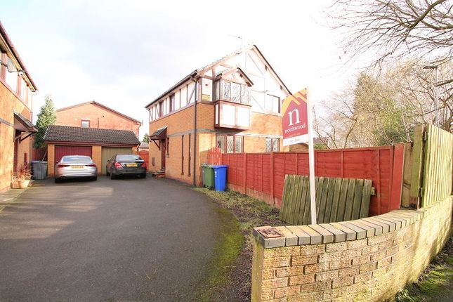 Thumbnail Detached house for sale in Dorchester Drive, Manchester