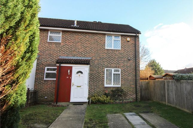Thumbnail End terrace house for sale in Evenlode Way, Sandhurst, Berkshire