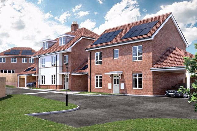 Thumbnail Link-detached house for sale in Lockesley Chase, Orpington, Kent