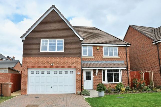 Thumbnail Detached house for sale in Sunset Way, Evesham