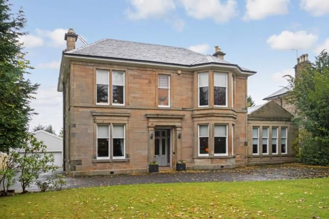 Thumbnail Detached house for sale in Peel Road, Thorntonhall, South Lanarkshire, Scotland