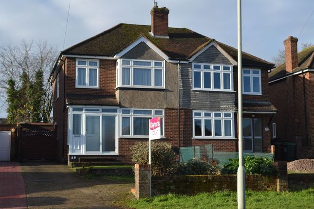 Thumbnail Semi-detached house to rent in Tibbs Hill Road, Abbots Langley
