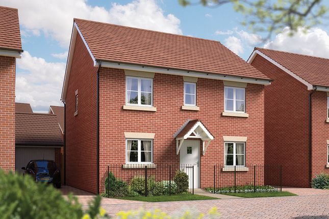 "Thumbnail Detached house for sale in ""The Buxton"" at Archer's Way, Amesbury, Salisbury"