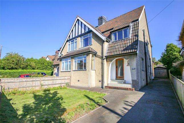 Thumbnail Semi-detached house for sale in Kewstoke Road, Bristol