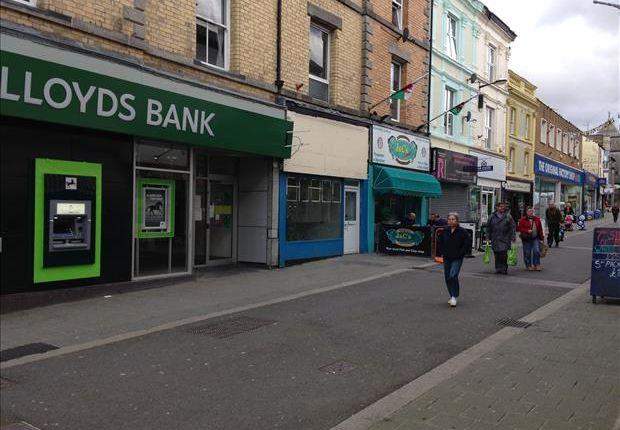 Thumbnail Retail premises for sale in 19, Pool Street, Caernarfon