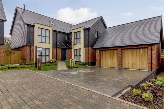 Thumbnail Detached house for sale in Aylesbury Court, Aylesbury Road, Lapworth