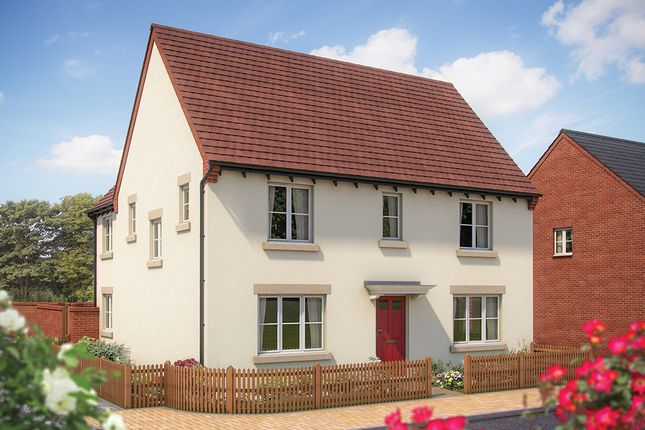 "Thumbnail Detached house for sale in ""The Luddington"" at Whitelands Way, Bicester"