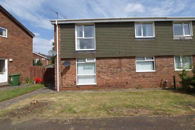 Thumbnail Flat for sale in Otley Close, Cramlington