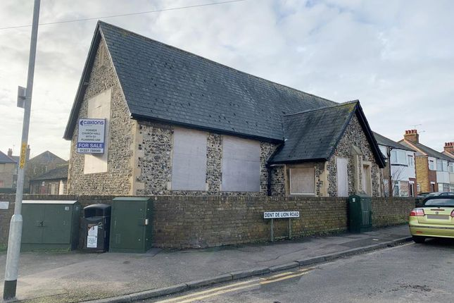 Thumbnail Commercial property for sale in The Old School Hall, Dent-De-Lion Road, Margate, Kent