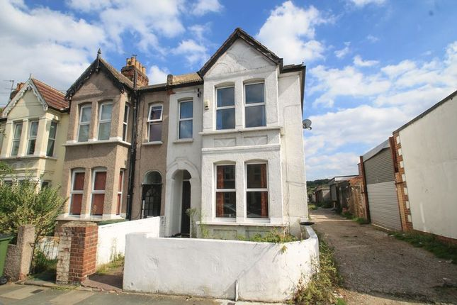 Thumbnail End terrace house to rent in Camrose Street, Abbey Wood, Greater London