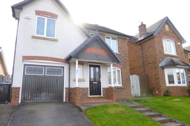 Thumbnail Detached house for sale in Barrington Meadows, Bishop Auckland
