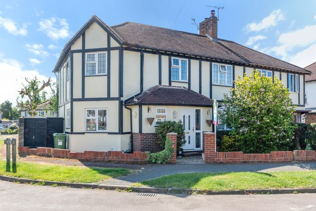 Thumbnail Semi-detached house for sale in Tynedale Road, Strood Green, Betchworth