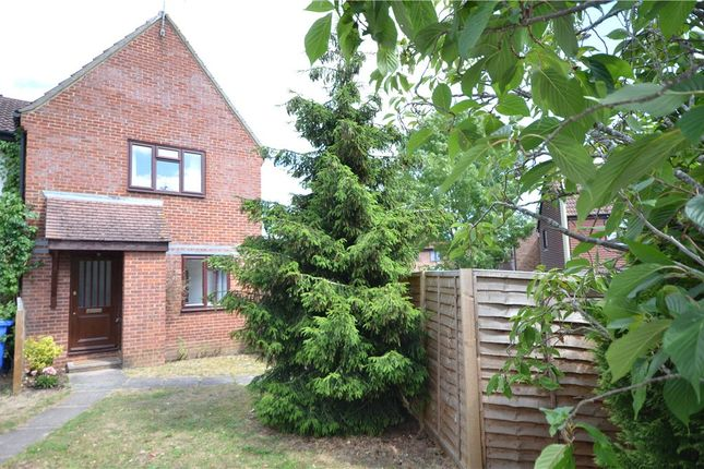 Thumbnail End terrace house for sale in Cheviot Drive, Fleet, Hampshire