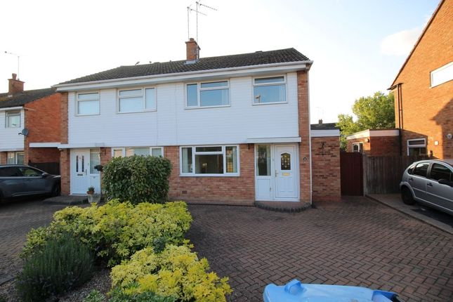 Thumbnail Semi-detached house for sale in Fields Park Drive, Alcester