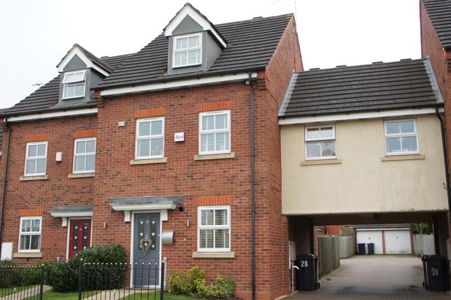 4 bed town house for sale in Barons Close, Kirby Muxloe, Leicester