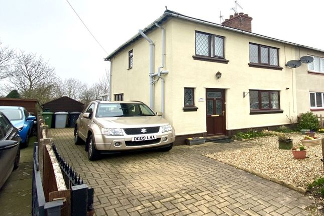 Thumbnail Semi-detached house for sale in Manor Road, Nantwich