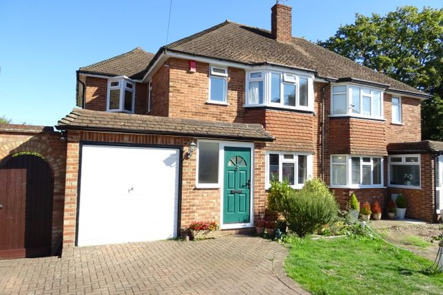 Thumbnail Semi-detached house for sale in Birch Close, New Haw