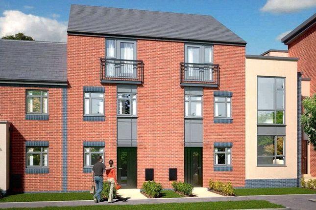 Thumbnail Town house for sale in The Dawlish - Plot 414, Johnsons Wharf, Leek Road, Hanley, Stoke On Trent