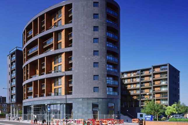 Thumbnail 2 bed flat for sale in The Sphere, 1 Hallsville Road, London