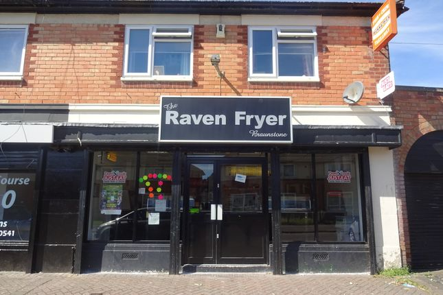 Thumbnail Restaurant/cafe for sale in Raven Road, Leicester