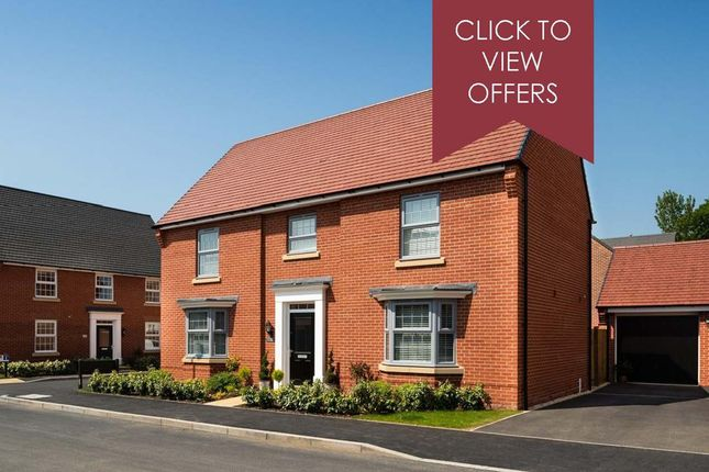 """Thumbnail Detached house for sale in """"Henley"""" at The Long Shoot, Nuneaton"""