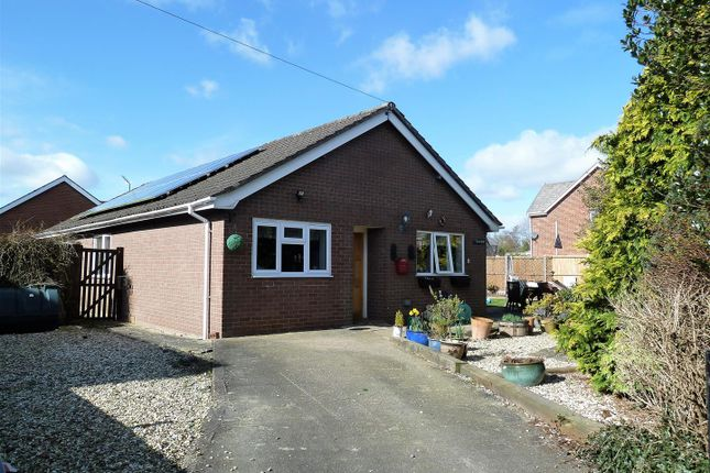 Thumbnail Detached bungalow for sale in Tanyfoel Drive, Llanymynech