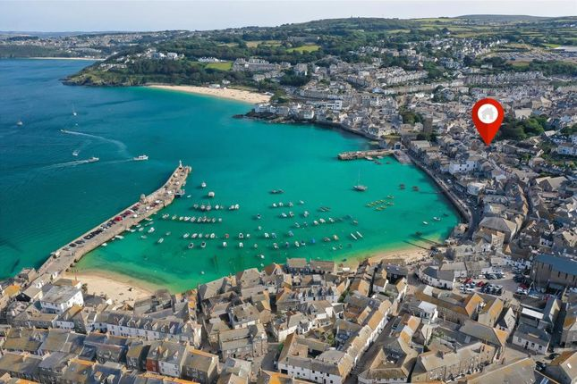 Thumbnail Terraced house for sale in Godref, Back Street, St. Ives, Cornwall