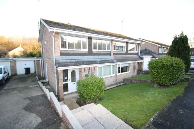 Thumbnail Semi-detached house to rent in Hollowdene, Crook