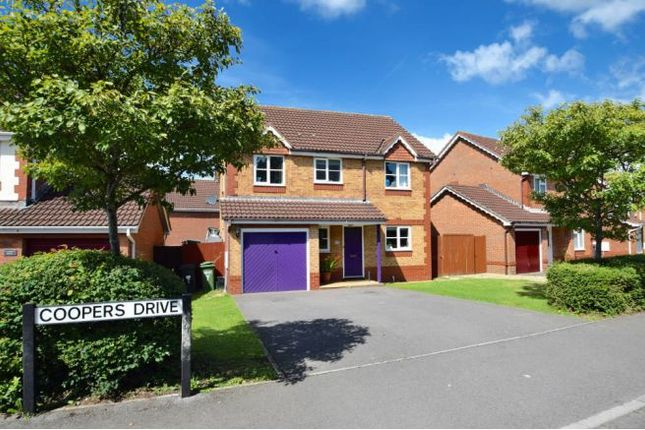 Thumbnail Detached house for sale in Coopers Drive, Yate, Bristol
