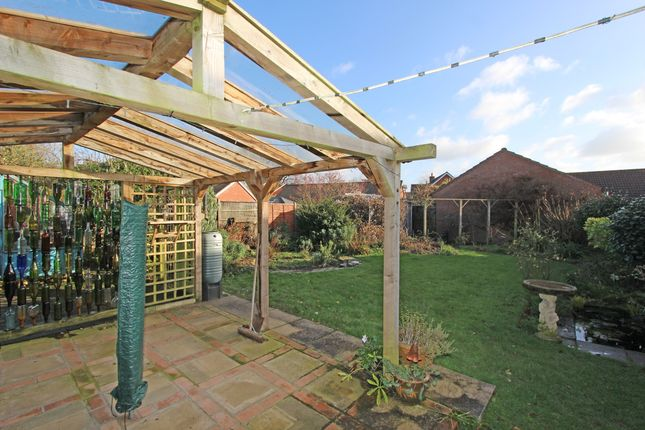 Garden of Pear Drive, Willand, Cullompton EX15