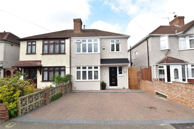 Thumbnail Semi-detached house for sale in Wilmot Road, West Dartford, Kent