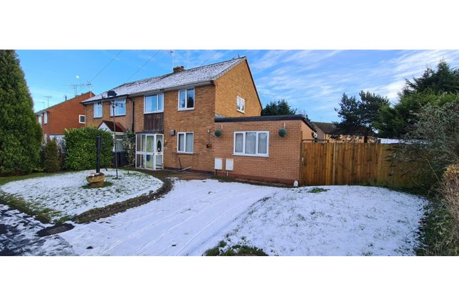 3 bed semi-detached house for sale in Meadow Road, Alcester B49