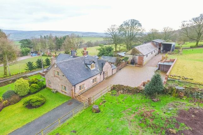 Thumbnail Equestrian property for sale in Cloudside, Congleton