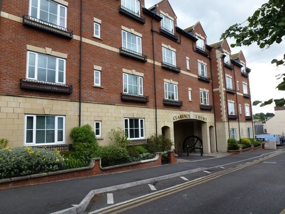 Thumbnail Block of flats to rent in Clarence Street, Yeovil