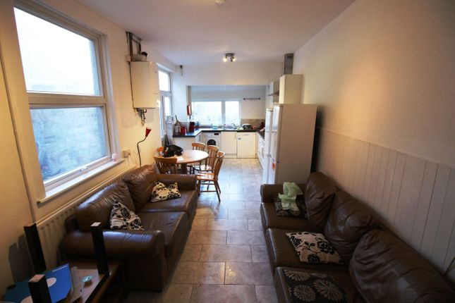 Thumbnail Terraced house to rent in Gelligaer Street, Cathays, Cardiff